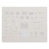Kaisi A-13 IC Chip BGA Reballing Stencil Kits Set Tin Plate For iPhone 11 / 11 Pro / 11 Pro Max